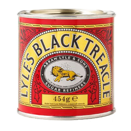 black treacle melasový sirup 454g od LYLE'S