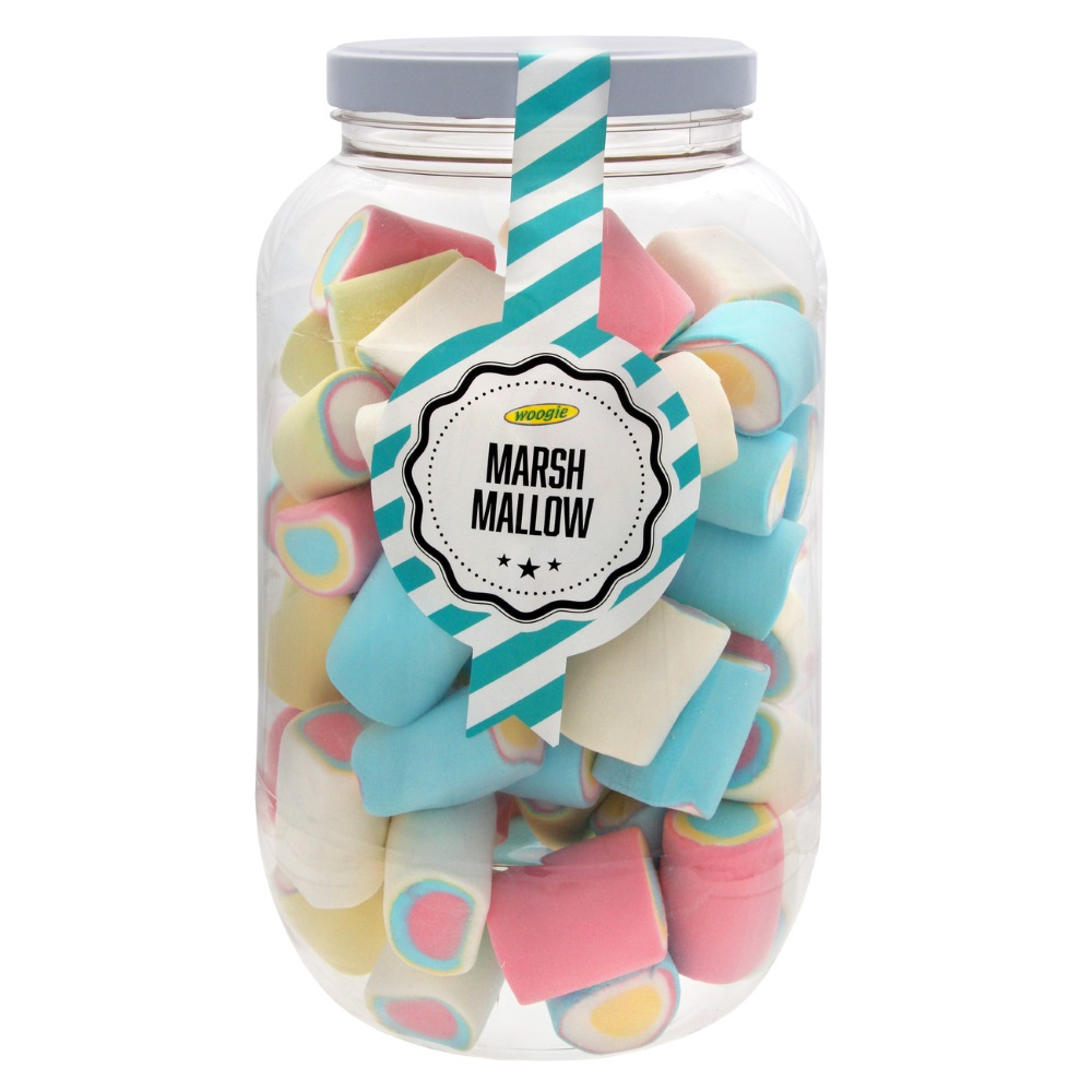marshmallows duhové 570g dóza